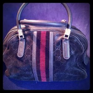 GUCCI black Bpwler Bag purchased in 2006 in Hawaii